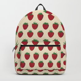 Strawberries and Cream Backpack