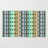 oasis Area & Throw Rugs featuring Oasis #5 by Ornaart