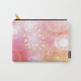 Circles Sunset Carry-All Pouch