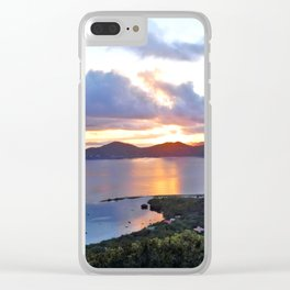 Coral Bay, St John Clear iPhone Case
