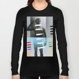 Composition on Panel 27 Long Sleeve T-shirt