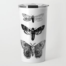 Vintage Butterflies Travel Mug