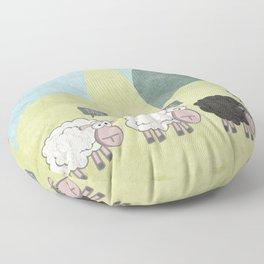 Rebel Sheep Floor Pillow