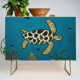 Under The Sea Credenza