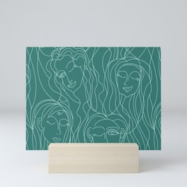 Green Ladies Mini Art Print