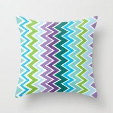 Breezy Surf Day Throw Pillow
