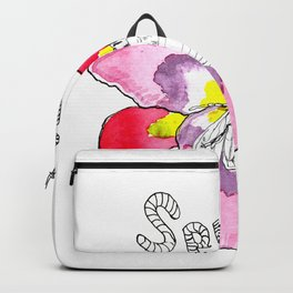 Spring with bee Backpack