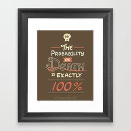 Morbid Reality #01 Framed Art Print