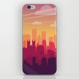Brooklyn Sunset iPhone Skin