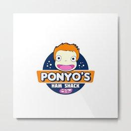 Ponyo's Metal Print