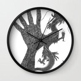 Ryu the Hand Wall Clock