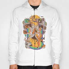 A Fragmented Reality Hoody