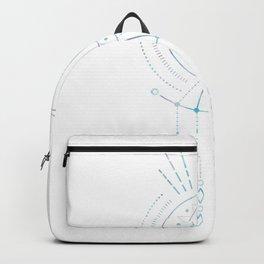 Mandala Crescent Moon Backpack
