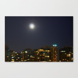 Night Skyline Canvas Print