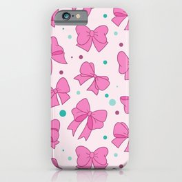 Bow Mania iPhone Case