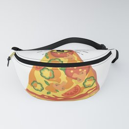 pizza hobby dough italy italy trust pizza earth Fanny Pack
