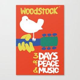 Woodstock 1969 Canvas Print