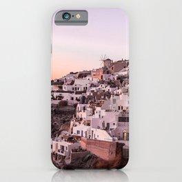 Oia, Santorini, Greece iPhone Case