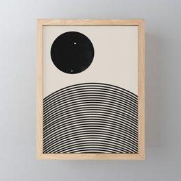 Woodblock Art, Mid Century illustration Framed Mini Art Print