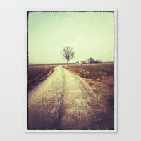 country Canvas Prints featuring Country by Jessica Morelli
