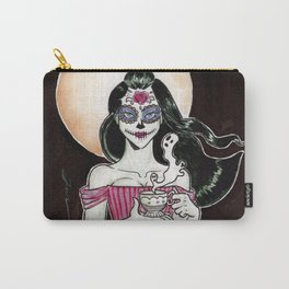 Sugar Skull tea and ink Carry-All Pouch