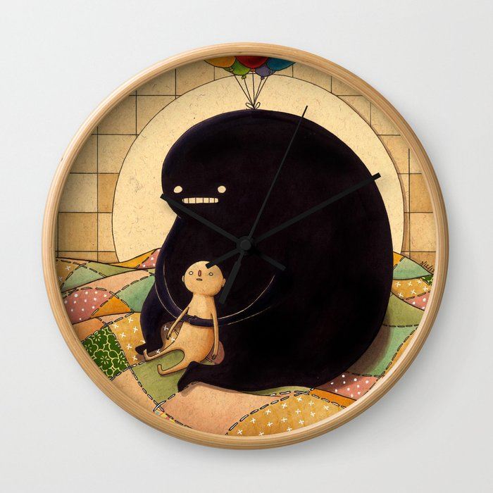 Fo Free Wall Clock