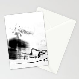 abstract light photography Stationery Cards