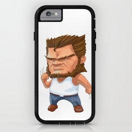Mini Wolverine iPhone Case