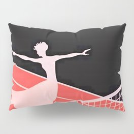 """Love – Tennis"" Art Deco Design Pillow Sham"