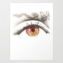 M Eye Art Print