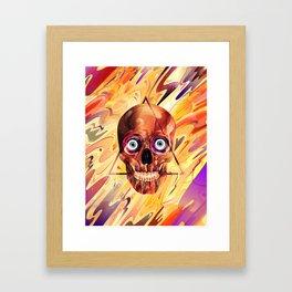 Deathzophrenia. Framed Art Print