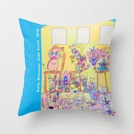 Kelly Bruneau #4 Throw Pillow