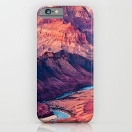 View of the Colorado River and Grand Canyon iPhone Case