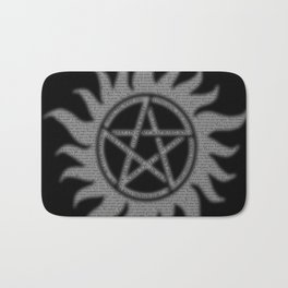 Carry On Supernatural Pentacle Bath Mat