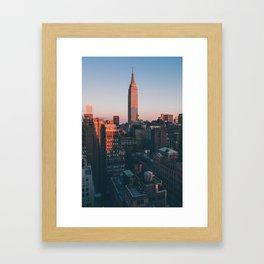 Garment District Framed Art Print