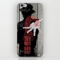 tom waits iPhone & iPod Skins featuring Tom Waits by J.C.D