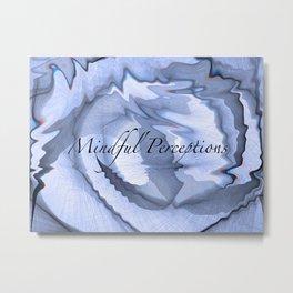 Mindful Perceptions(Cover) Metal Print