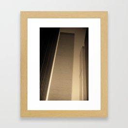 New York City 1982 Sepia Series - #1 Framed Art Print