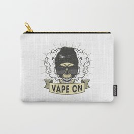 Cloud Chaser - Vaping Hipster - Vape On Swag Carry-All Pouch