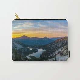 Sunset over Tombstone Lake Carry-All Pouch