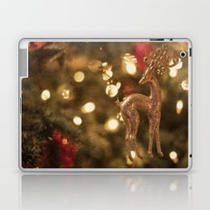 Christmas deer Laptop & iPad Skin