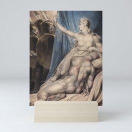"William Blake ""Delilah and Samson"" Mini Art Print"