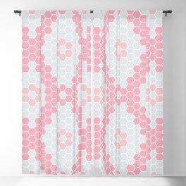 Six corners pattern Blackout Curtain