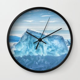 Pressure ridge of lake Baikal Wall Clock