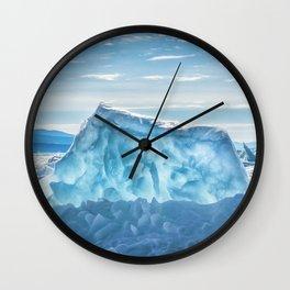 Pressure ridge of lake Baikal Wall Clock