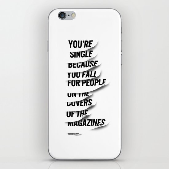 Single iPhone & iPod Skin