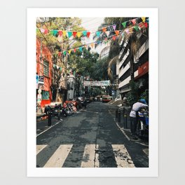 Mexico City Morning Art Print
