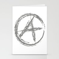 anarchy Stationery Cards featuring Anarchy by Collectivo 2