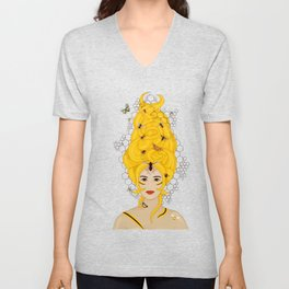 The Queen Bee Unisex V-Neck