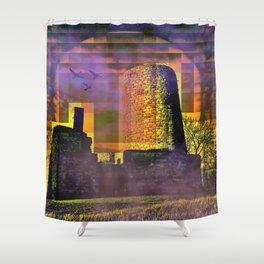 Castle-Art Shower Curtain